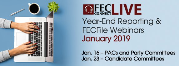Year-End Reporting & FECFile webinars