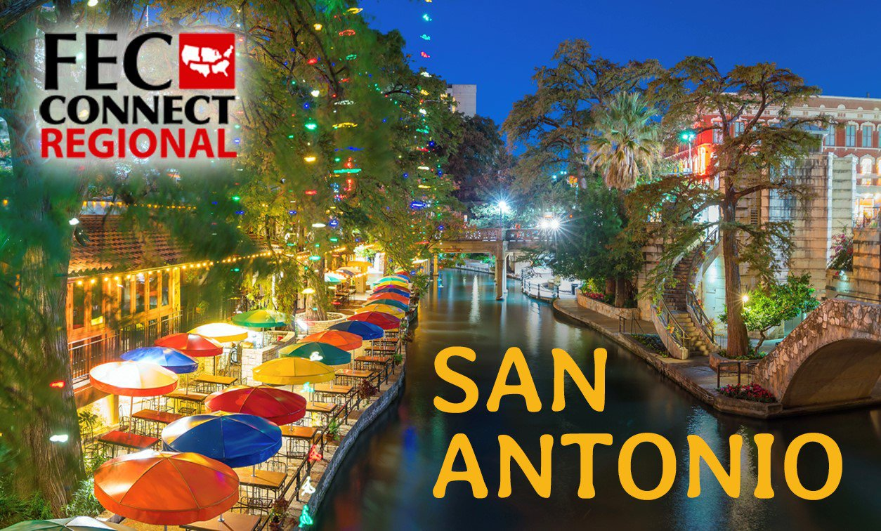 Image for the San Antonio Regional Conference with the river walk in the background