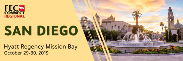 A banner for the San Diego Regional Conference on October 29-30, 2019