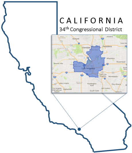 Congressional District 34 California Map.California Special Election Reporting 34th District 2017