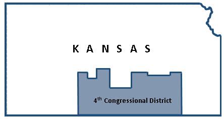Kansas 4th District map