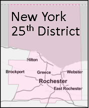Image depicting New York's 25th congressional district