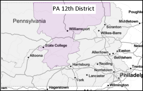 Pennsylvania's 12th congressional district (2019)