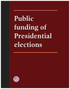 Public funding of Presidential elections brochure cover
